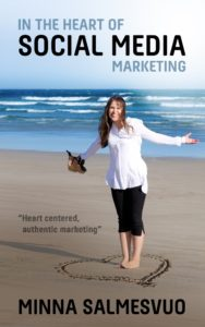 The heart of social media book cover